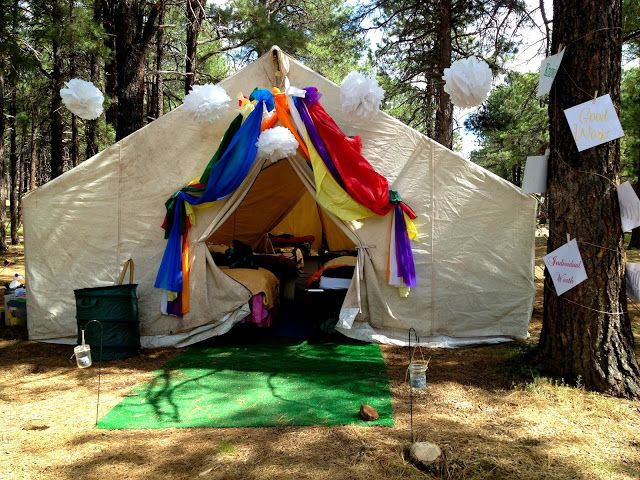 Marci Coombs: Girls Camp Part 3 - Decorations and such.