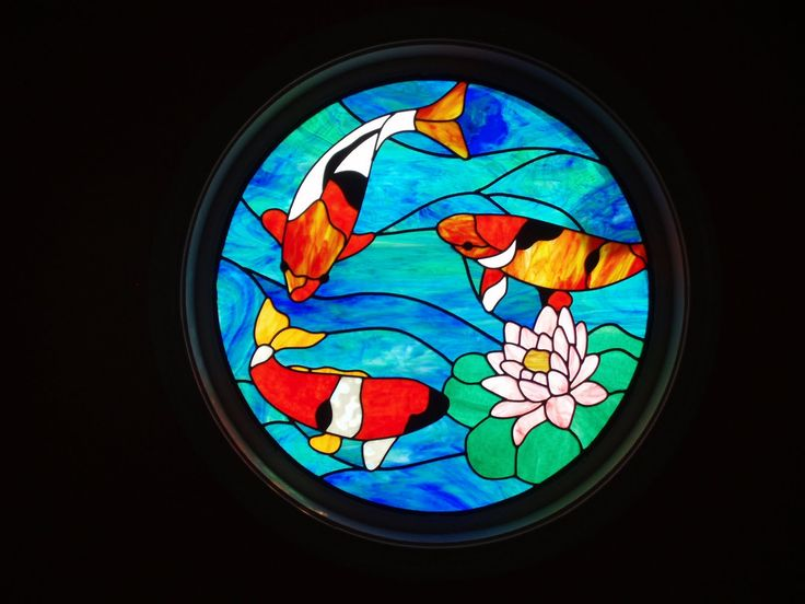 17 best images about mosaic fish sea on pinterest for Stained glass fish patterns