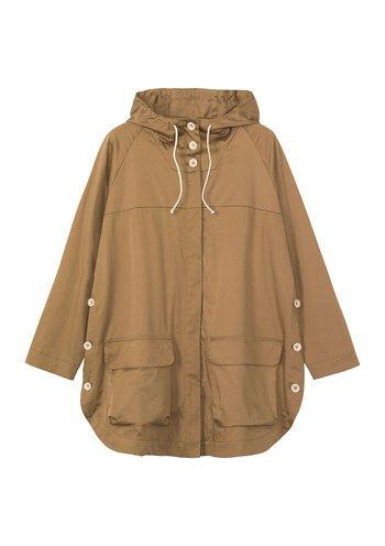 ALDEN COTTON ANORAK by Toast, Inspiration for the Landgate pattern