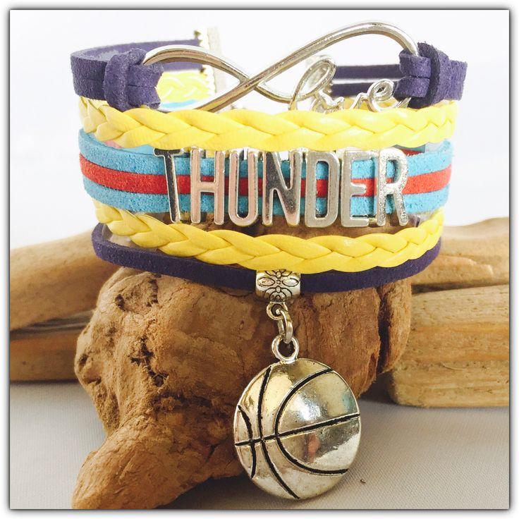 Oklahoma Thunder Layer Bracelet