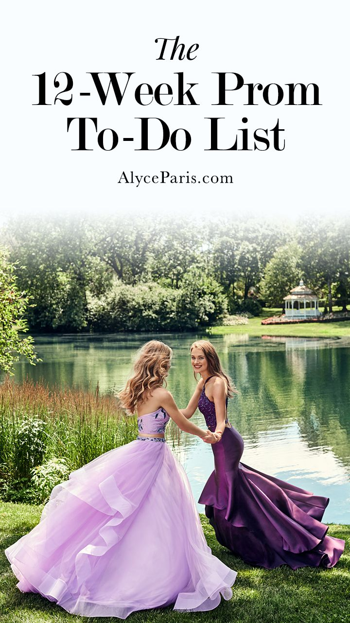 """Prom To-Do Checklist 