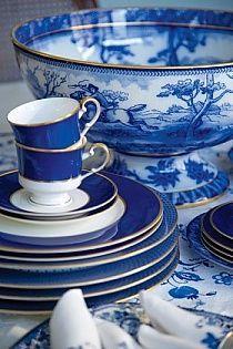 porcelain blue. + anything blue & white