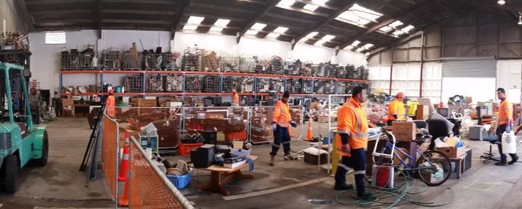 Community Recycling Network - Inorganic Warehouse: Reducing waste to landfill & helping the community