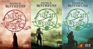 Die Königsmörder-Chronik von Patrick Rothfuss erzählt die Geschichte eines heldenhaften Barden. Der dritte Tag, The Doors of Stone, ist derzeit in Arbeit.