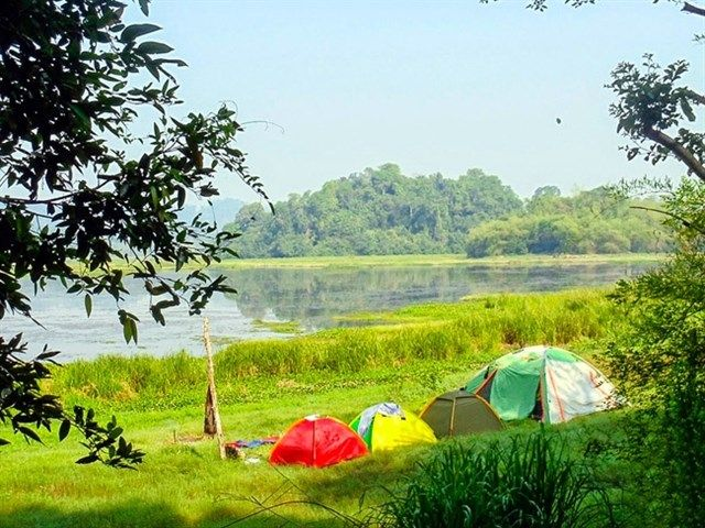 Nam Cat Tien National Park - one of Great places to go camping in Vietnam.    #phuquocisland #vietnamholidaypackages #Vietnamtravelguide