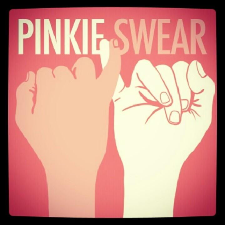 Pinky swear!!!::Shannon McCaffrey::
