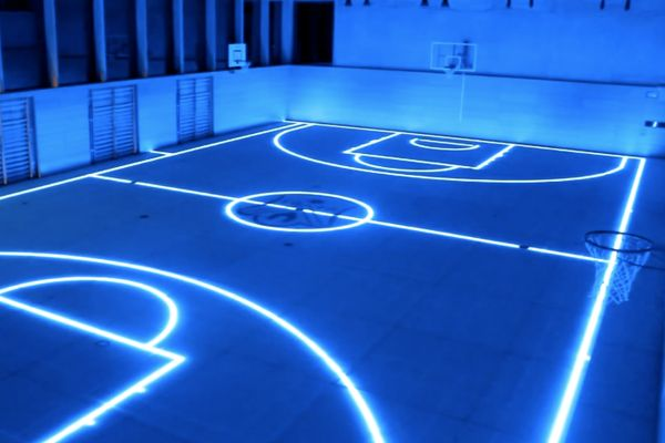 Some of these basketball courts are incredible, especially #7.