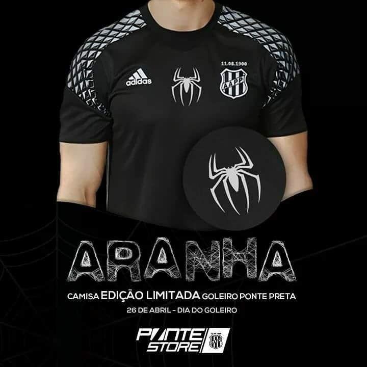Ponte Preta lança camisa especial para goleiro Aranha
