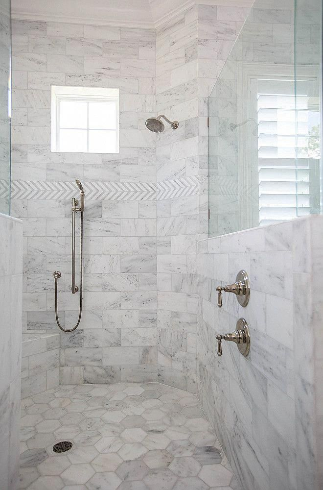 Pin By Jennifer Davila On Bathrooms In 2020 Marble Shower Tile Shower Tile Shower Floor