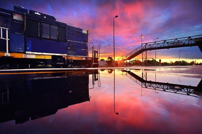 Reflection Station  Parkes, NSW Australia