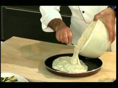 Quiche s lososem a zeleninou - Recept Whirlpool Crisp - YouTube