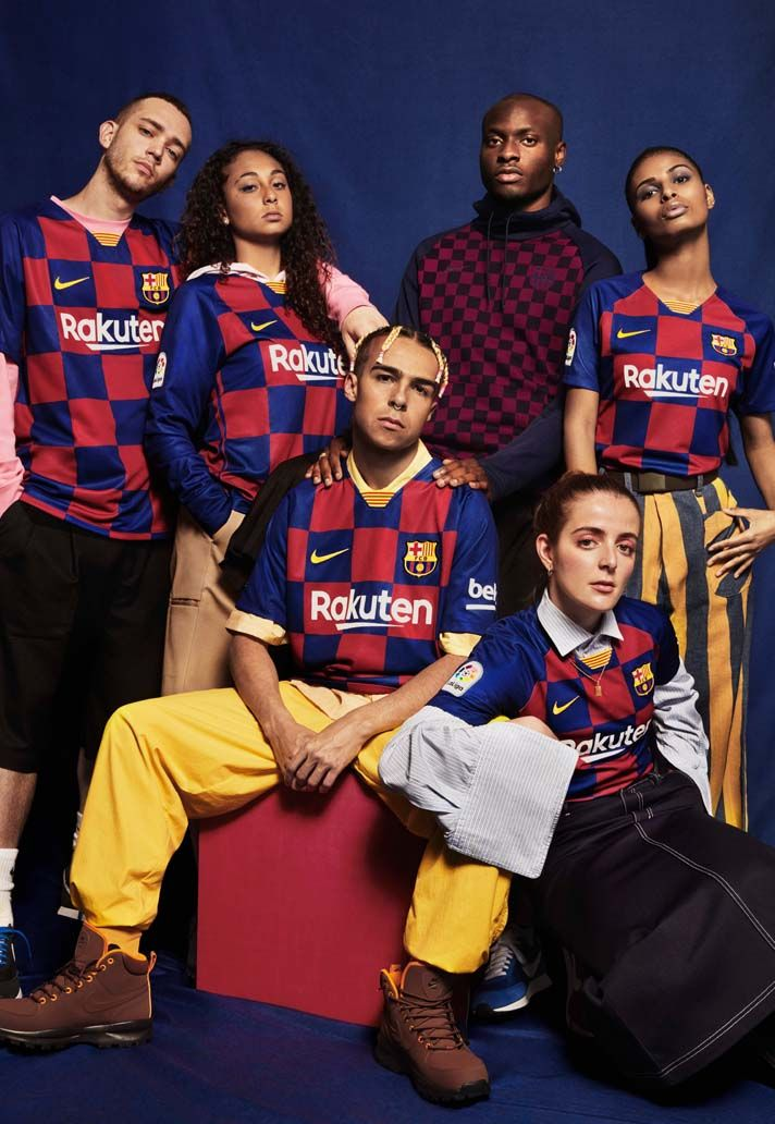 Nike Launch Barcelona 2019 20 Home Shirt Soccerbible In 2020 Jersey Outfit Football Jersey Outfit Jerseys Outfit