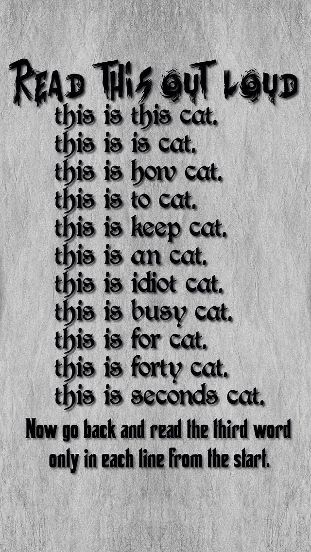 Read It Out Loud Funny mind tricks, Funny jokes to tell