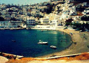 Astypalaia, pronounced, called in Italian Stampalia and in Ottoman Turkish İstanbulya, is a Greek island with 1,334 residents. It belongs to the Dodecanese, an island group of twelve major islands in the southeastern Aegean Sea.