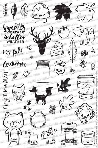 Fall Planner Doodles