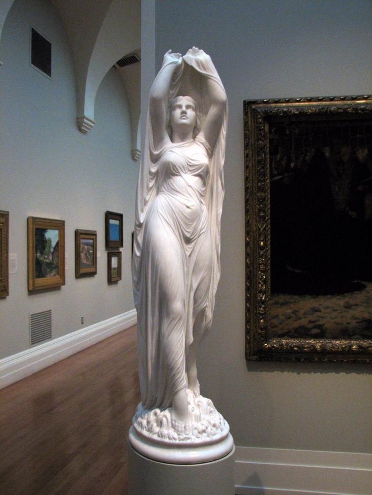 Chauncey B. Ives, Undine Rising from the Waters c. 1880/ 1892 Marble Yale University Art Gallery, New Haven