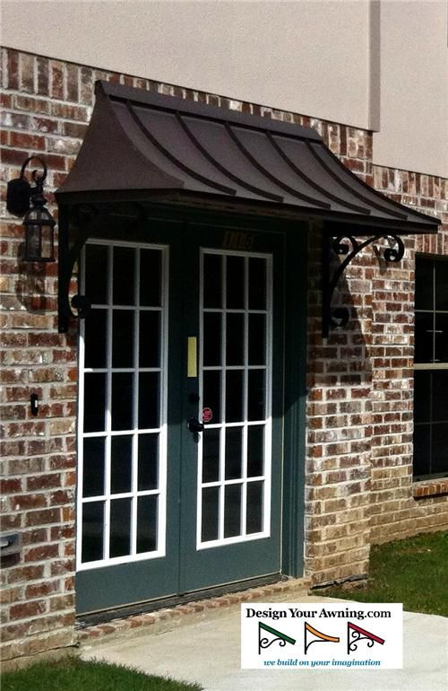 The Metal Juliet Awning & 20 best Front Entrance images on Pinterest | Exterior lighting ...