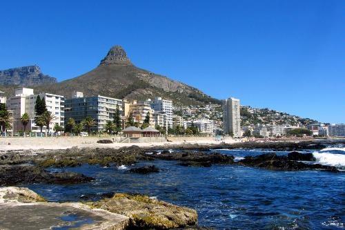 Sea Point Promenade in Cape Town