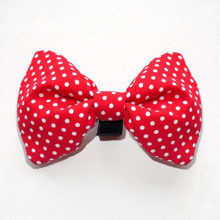 Dog Bow Tie Urwis , Pet Bow Tie, Bowtie, Collar Attachment by PSIAKREW on Etsy