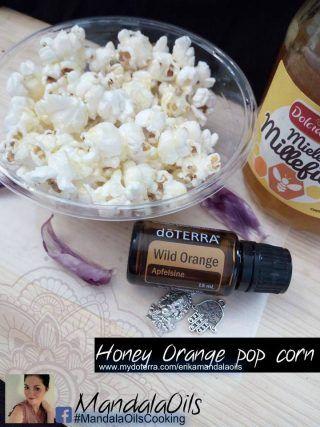 Popcorn dolci e salati con olii essenziali doTerra   MandalaOils