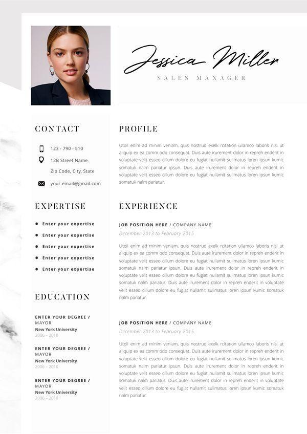 96 Beautiful Resume Professional For Designers Classic En 2020 Modele De Cv Creatif Modele Cv Gratuit Modele De Cv Moderne