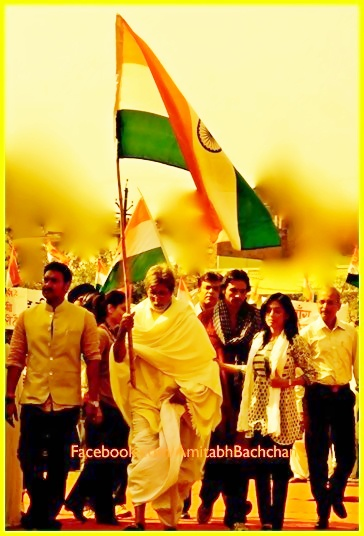 SatyaGrah New Big B movie looking forward to it.