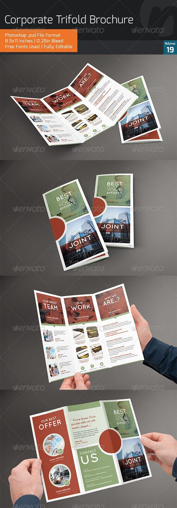 i liked the design of this brochure because the design is very organized and it depends