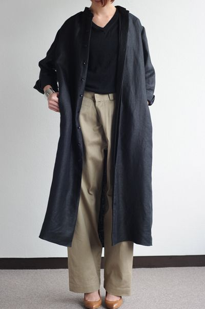 Wide pants and Coat