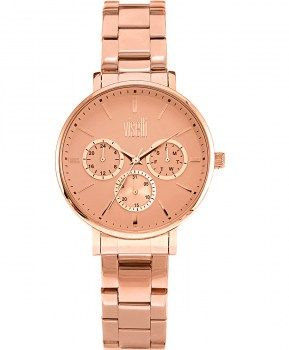Γυναικεία Ρολόγια : VISETTI Operetta Multi Ladies Rose Gold Stainless Steel Bracelet PE-796RR