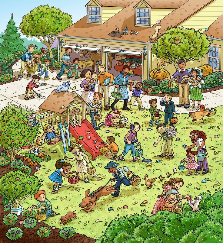 (2016-01) Hvad gør de i haven?