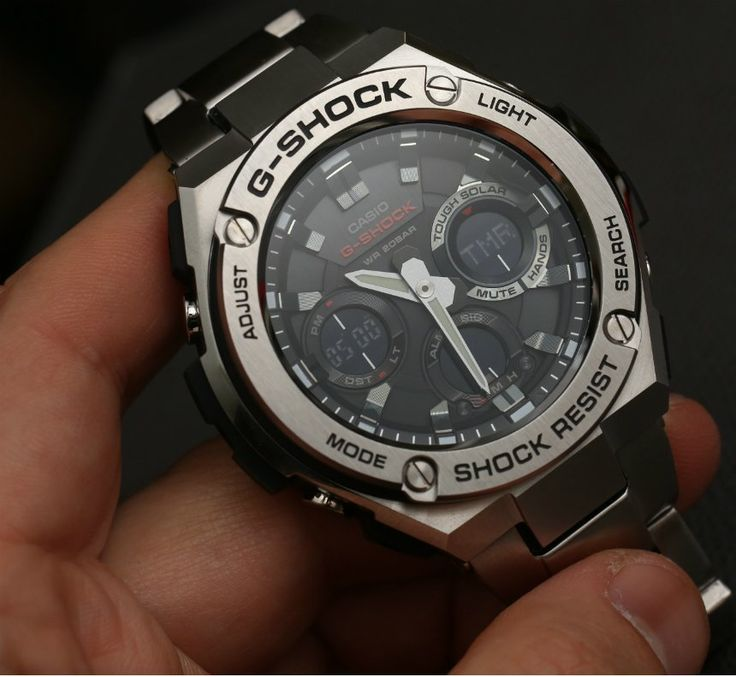 Casio G-Shock G-Steel GSTS110D-1A Watch Review