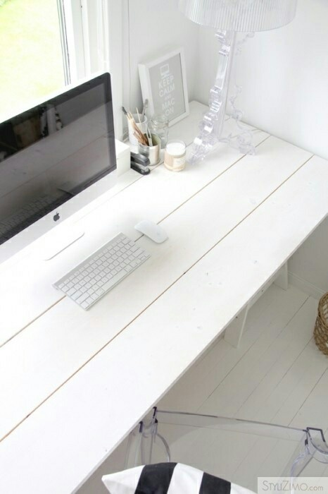 I could so do this and have the desk run the length of the small room which is my office.