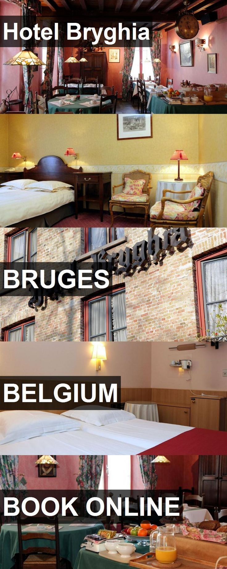 Hotel Bryghia in Bruges, Belgium. For more information, photos, reviews and best prices please follow the link. #Belgium #Bruges #travel #vacation #hotel