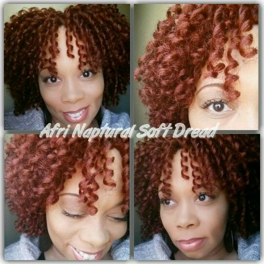 Crochet Braids Unraveled : Crochet Braids with Afri Naptural Soft Dread Loc (unraveled) in color ...