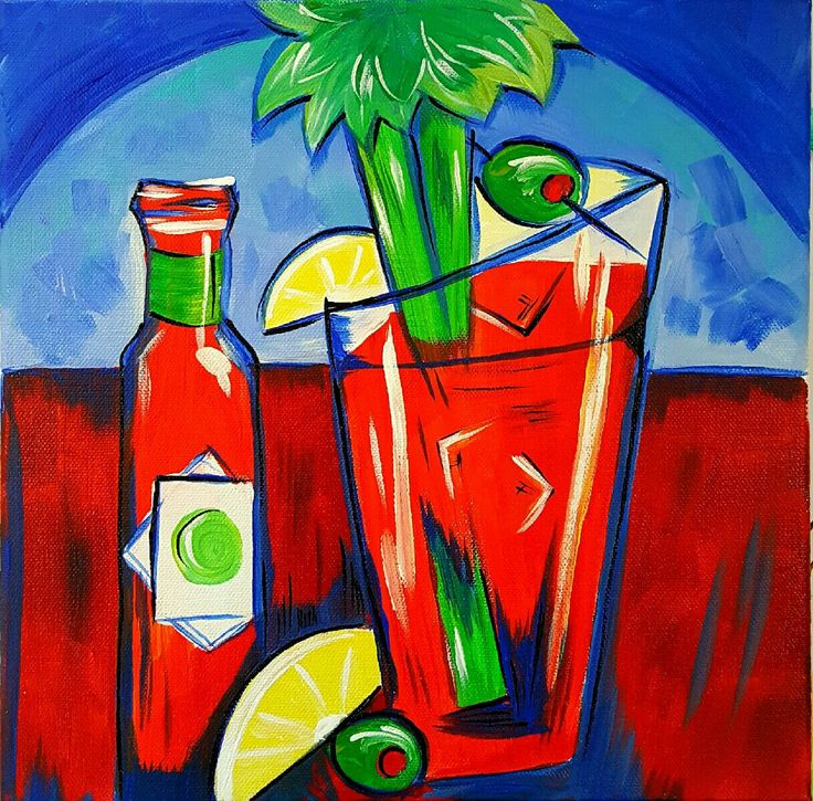 Karen Stephens/bloody mary bar Over Easy