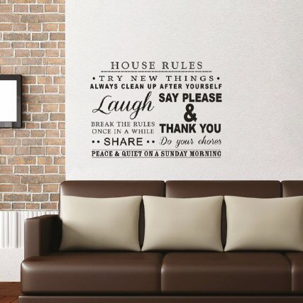 wall quote | b&m bargains | wall stickers, wall, wall quotes