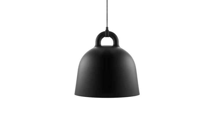 Bell Lamp Medium black