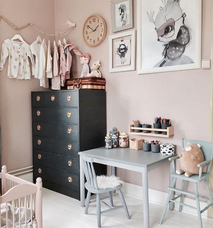 Credit: @kaptensgatan2 nursery inspiration soft tones kids' room more inspiration on #smallable