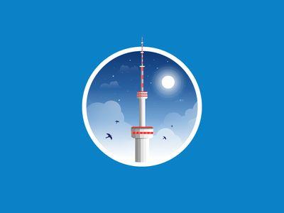 Almaty Radio and TV tower