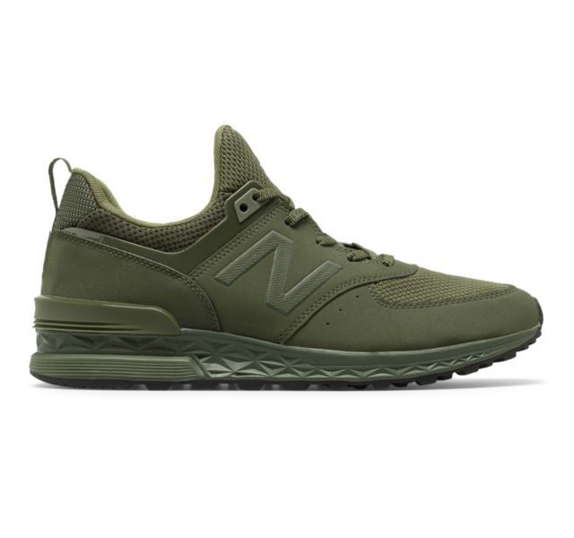 all green new balance