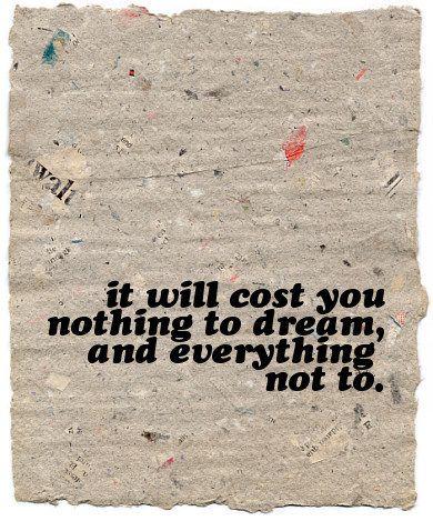 dream: quote