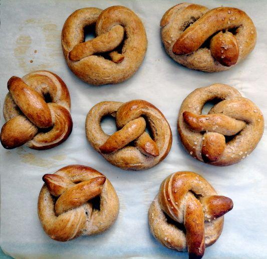 Mustard Soft Pretzels From 'Salty Snacks' Recipe — Dishmaps