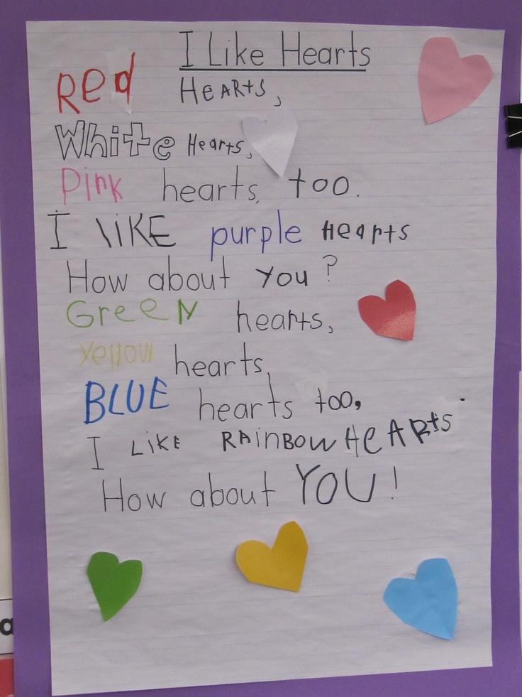Cute valentine poem from child-6840