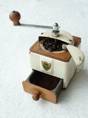 Art Deco Peugeot Freres French Coffee Grinder