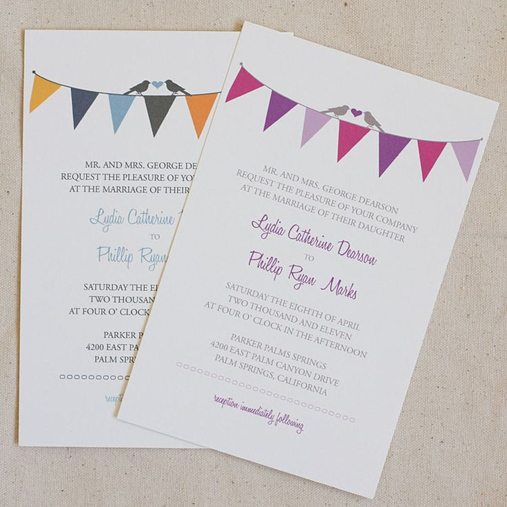 Free printable wedding invitation templates- could be used for bridal shower invites