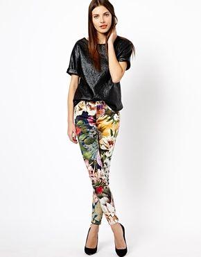 Enlarge Ted Baker Jeans in Tangled Floral Print