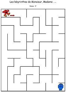 labyrinthes monsieur madame