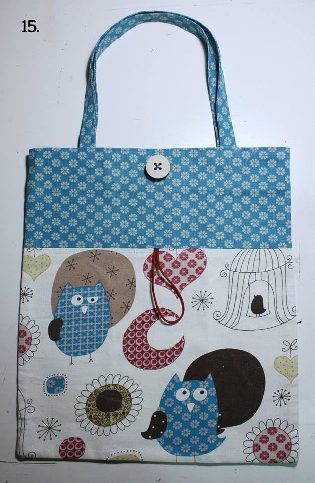 Come fare una shopper piegabile/richiudibile da portare sempre in borsa. Tutorial di Crisdemarchi Atelier.
