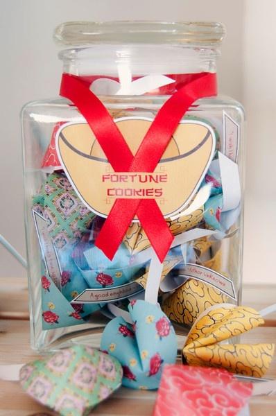Pretty Fortune Cookies~!