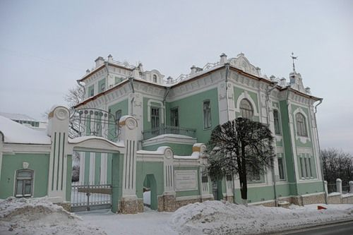 Russia, Cheboksari. Art Nuoveou mansion
